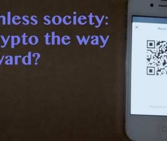 """""""Sleepwalking"""" into a cashless society: could cryptocurrency help?"""